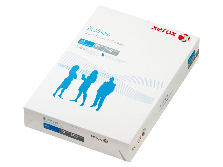 Бумага Xerox Business А4, 80г/кв.м, 500л, 164%, марка В+